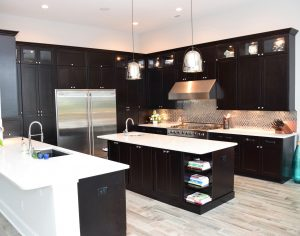 Dark kitchen cabinets in Myrtle Beach, SC